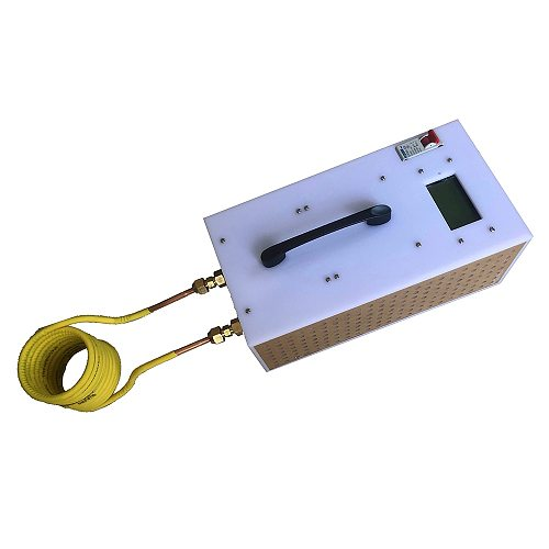 1800/2500W Induction Heater High Frequency Induction Heating Machine Metal Smelting Furnace + heating coil+Crucible