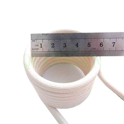 Induction heating coil ZVS copper tube water-cooled high-frequency furnace intermediate frequency 6mm without tap DIY