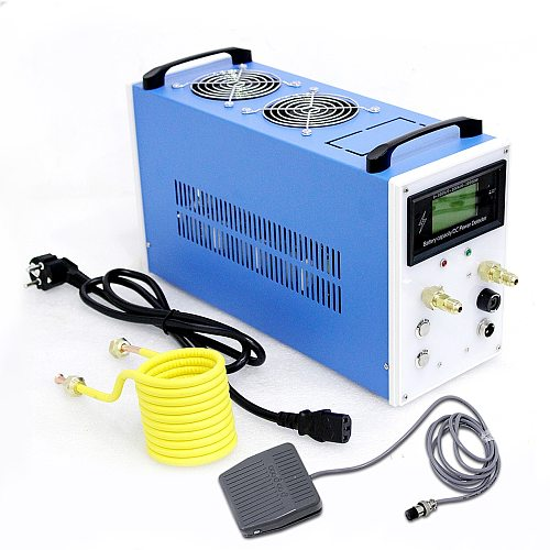 NEW 2800W ZVS Induction Heater Induction Heating Machine Metal Smelting Furnace Metal Quenching Equipment+crucible+Heating coil