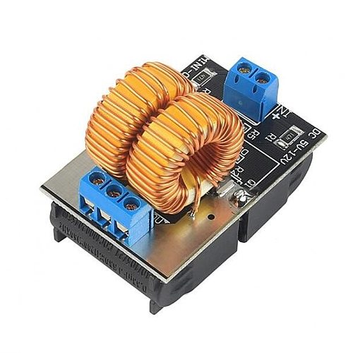 12V 120W Mini ZVS Induction Heating Board Flyback Driver Broad Heater DIY Cooker+ Ignition Coil