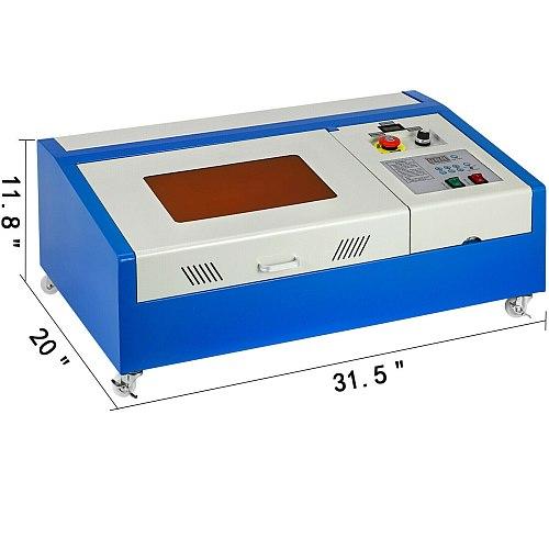 EU Warehouse/ Russia Warehouse 40W CO2 Laser Machine Cutting Machine Laser Engraving Machine
