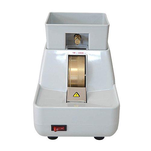 35WV Hand Grinder Lens Polishing Machine Edging Machine with V Groove Coarse and Fine Grinding Wheel Beveling Machine 220v/110v
