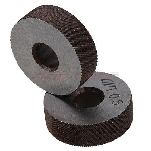 Pair of 0.5mm Gear Hob Wheel Knurled Wheel Knife Textured Knurled Lathe Embossing wheel Machine Tools Accessories