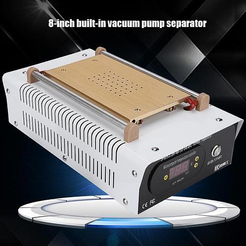 LCD Separator 8-inch LCD Screen Separator Built-in Pump Vacuum Separator Screen Repair Machine for mobile phone glass screen