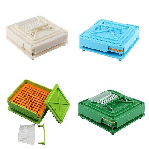 100 Holes  Manual Capsule Manual Filling Machine Encapsulator Capsule Filling Board Hole capsule shell filler