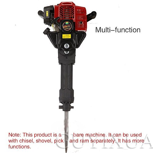 Gasoline tree digger Multifunctional crushing earth digging and trencher Seedling transplant broken root earthmoving machine
