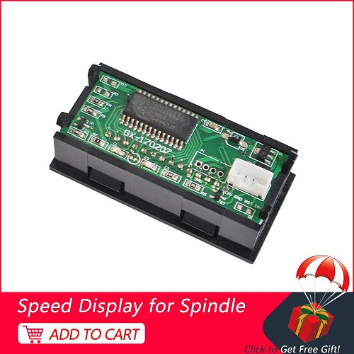 Mini Speed Display Tachometer Screen Display For CNC Spindle Motor Brushless Milling Motor Stepper Motor Driver