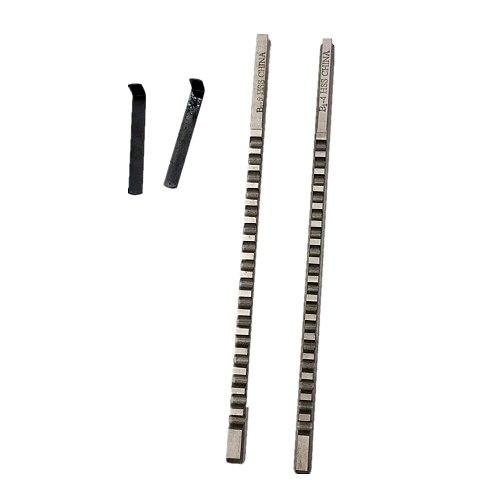 4mm 5mm B1 Type Push Type Keyway Broaches HSS Keyway Tools for CNC Machine Tool