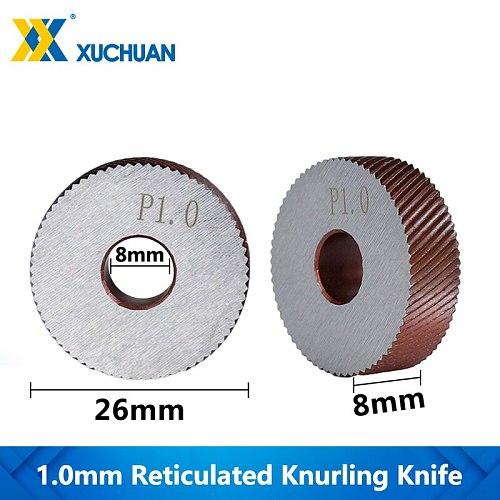 1.0mm Reticulated Knurling Wheel Steel Lathe Tool Inner Hole Embossing Wheel Reticulated Knurling Wheel Knurling In Lathe