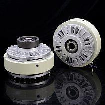 Hollow shaft clutch 0.6-40kg magnetic powder brake 24 V tension controller pneumatic shaft electromagnetic powder brake