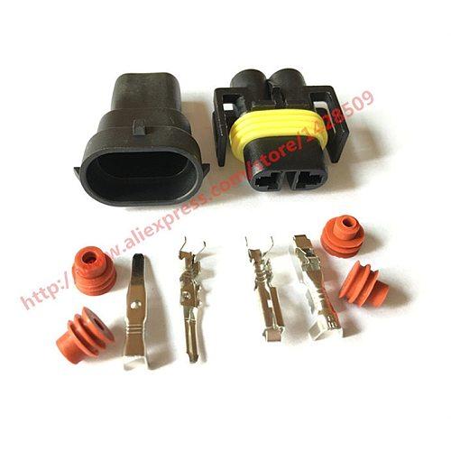 5 Set 2 Pin Kit Female Male 880 Socket Connector Fog Lamp Light H11 H8 H9 Lamp Socket 12124819