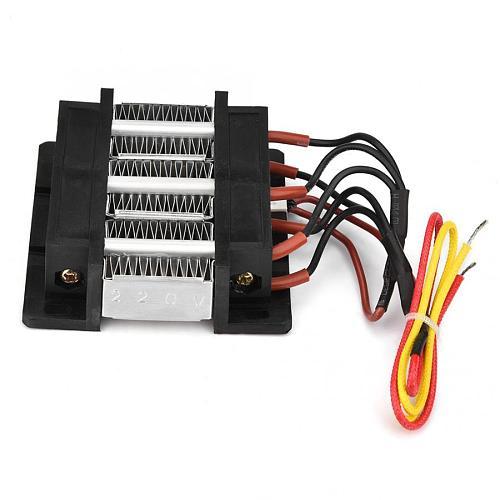 220V 200W Insulated PTC Ceramic Air Heater PTC Heating Element.