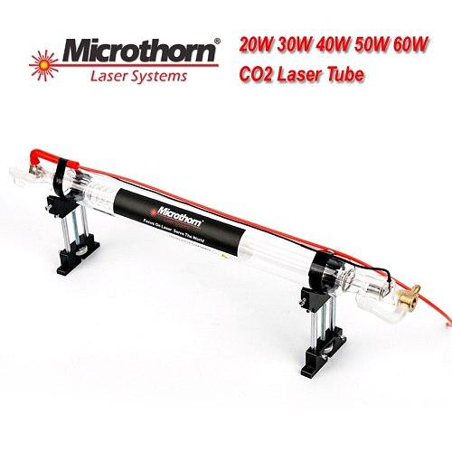 Veci 700*50mm 110V/220V Co2 Laser Tube 40W with Metal Head for Laser Engraving Machine