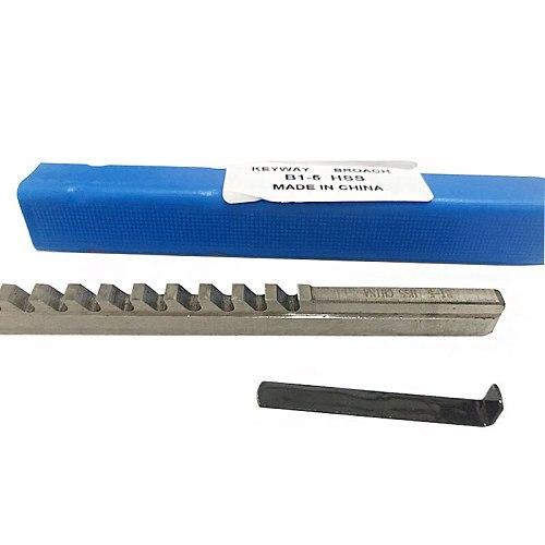 5mm B1 Push-Type Keyway Broach HSS Metric Size CNC Machine Tool