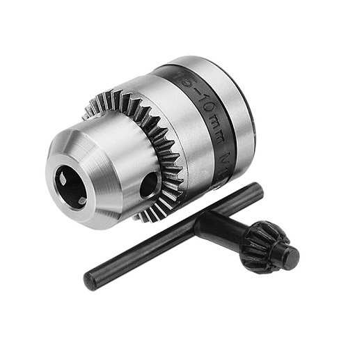 New Angle Grinder Conversion Chuck 1.5-10mm Metal Stable Keyed Drill Chuck Convertor M12 Thread Adapter