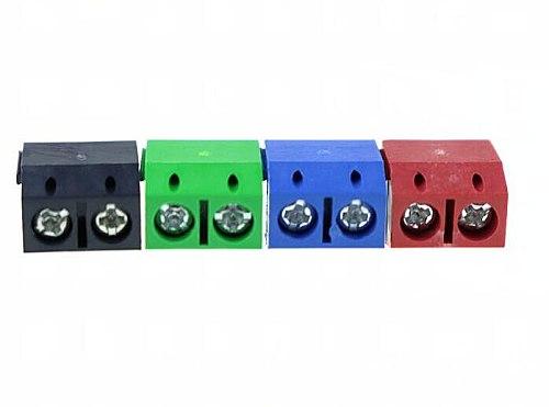 10 PCS KF301-5.0-2P Pitch 5.0mm KF301-2P Straight Pin PCB 2 Pin 3 Pin Screw Terminal Block Connector