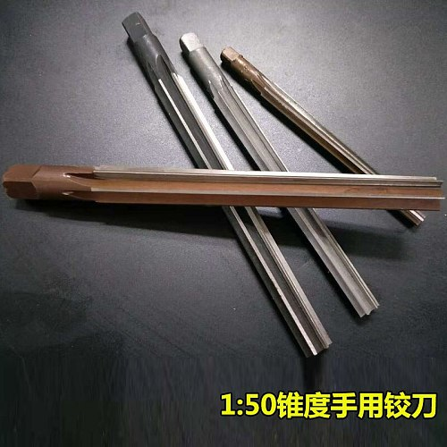 Free Delivery 1pcs Precision Milling 1:50 Taper Shank Hand Reamer 3mm to 20mm (3/4/5/6/8/9/10/12/14/16/18/20mm)