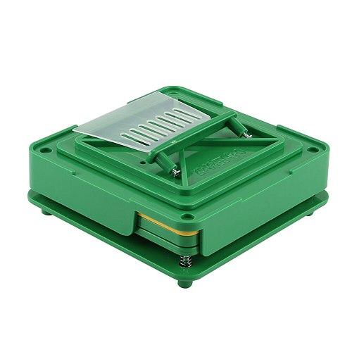 100 Holes Encapsulator Capsule Filling Machine DIY Dispensers Manual Powder Flate Tool Fast Board Food Grade Pharmaceutical ABS