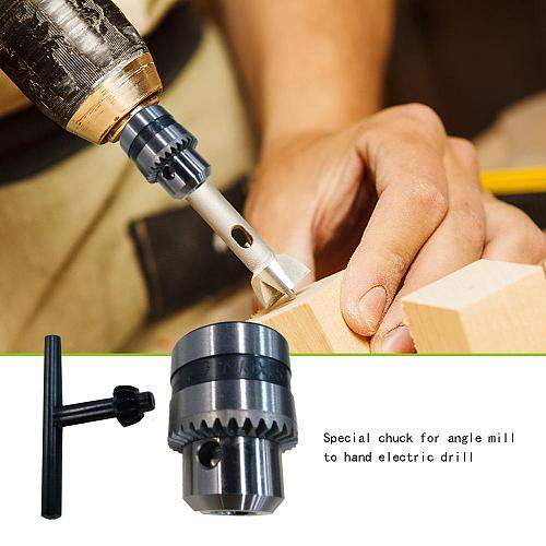 Angle Grinder Hand Electric Drill Chuck Angle Grinder Drill Chuck Self-locking Iron Collet with Key Electric Accessories for M10