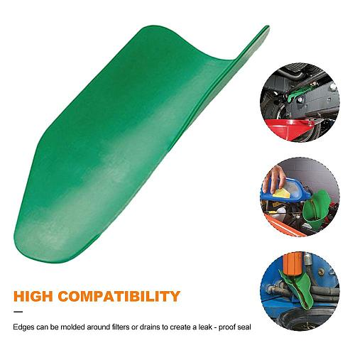 Flexible Water Oil Draining Tool Resuable Folding Draining Tool Oil Guide Plate For Cars And Motorcycles, Engine Oil, Liquid