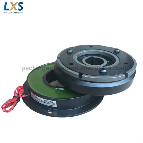 Dry Type Single Plate Electromagnetic Clutch FCD-050 DC24V Energized Electromagnetic Clutch