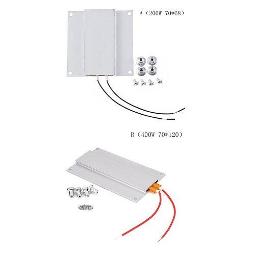 AC 220V Aluminum LED Remover PTC Heating Plate Soldering Chip Remove Weld BGA Solder Ball Station Split Plate