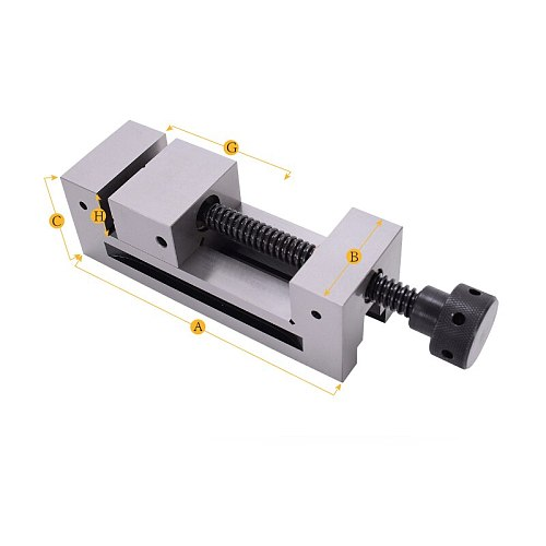 2  2 Inch Right Angle High Precision Vise Grinder CNC Vise Gad Tongs For Surface Grinding Machine Milling Machine Edm Machine