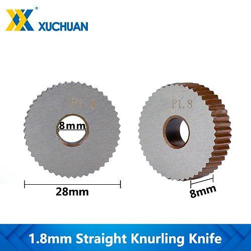 1.8mm Inner Hole Embossing Wheel Straight Knurling Knife Lathe Knurling Wheel Knurling Wheel Gear Shaper Cutter