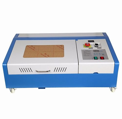 40W CO2 Upgraded Engraving Machine Wood Laser Cutter 300x200mm