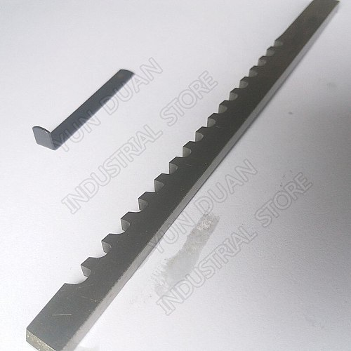 1/4  inch C Push Type Keyway Broach High speed steel HSS Cutting Tool for CNC Broaching machine Metalworking