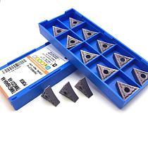 10PCS carbide tool TNMG160404 HA PC9030 external turning tool high quality CNC lathe tool TNMG160404 turning insert carbide