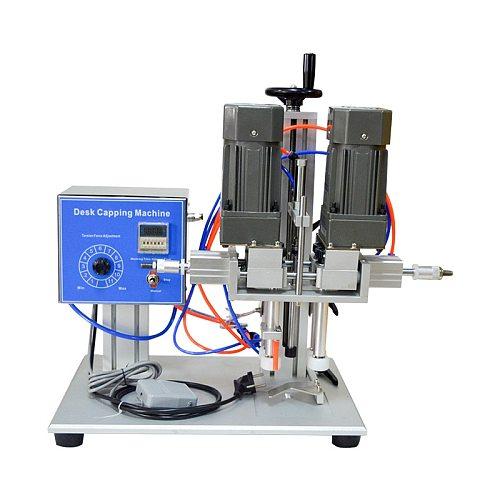 Desktop Automatic Capping Machine Trigge Cap Capper Twist Sealing Plastic Glass Dropper Spout Pouch Bottle Capping Machine