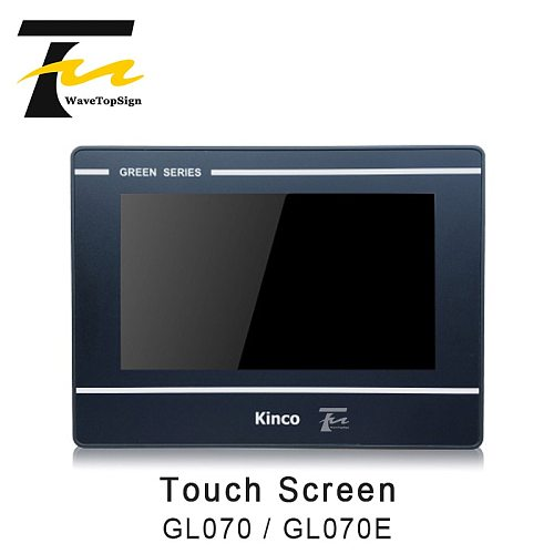 Kinco GL070 GL070E HMI Touch Screen 7 inch 800x480 Ethernet 1 USB Host new Human Machine Interface upgrade MT4434TE MT4434T