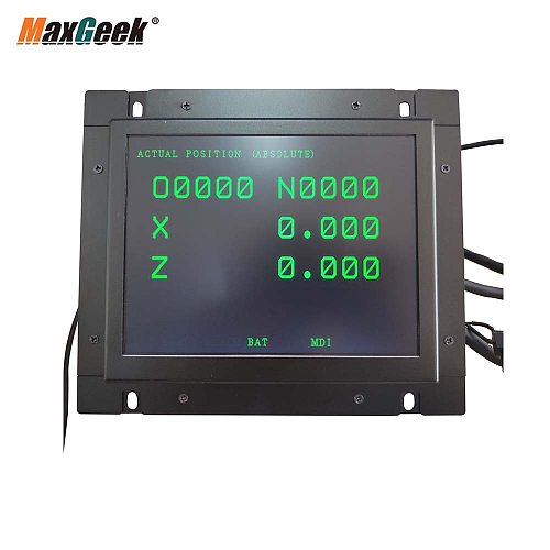 Maxgeek A61L-0001-0093 D9MM-11A A61L-0001-0095 A61L-0001-0072 9 Inch LCD Monitor Replacement for FANUC CNC System CRT Display