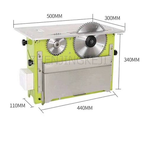 Dust-free Mother-saw 45° Sliding Table Saw Home Improvement Multifunction 2.6KW Sawing Machine Woodworking Machinery Equipment