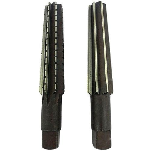 2PCS/Set Hand Reamers Set MT0/MT1/MT2/MT3/MT4/MT5 Steel Fine/Rough-Edge Morse Taper Reamer For Milling Finishing Cutter Tool