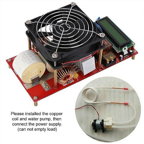 ZVS 2000W Electric Induction Heater Module Durable With Coil Driver High Voltage Industrial Melt Metals Tool Board Copper Pipe
