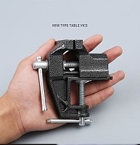 New CarbonSteel Machine Bench Screw Vise Mini Table Vice Bench Clamp Screw Vise for DIY Craft Mould Fixed Repair Tool