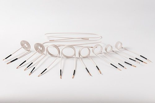 8 pieces Coil Kits inductor and 2 wire for 1000W mini induction heater