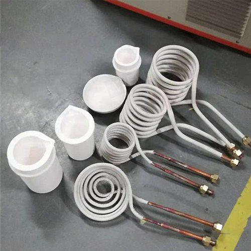 Different shape induction coils suitable for induction heating melting machine induction coils only