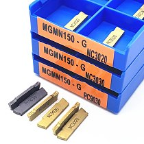 MGMN200 MGMN250 MGMN300 MGMN400 NC3020 NC3030 PC9030 Carbide Inserts Grooving Turning Tool Lathe Cutter Tool CNC Machine Tools