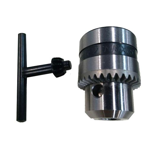 Electric Drill Chuck Angle Grinder Drill Chuck with Key Lathe Self-locking Iron Collet Electric Accessories