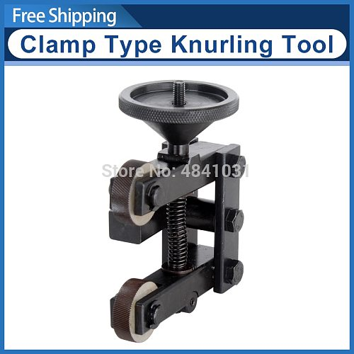 12mm clamp type knurling tool 0.8mm reticulated knurling wheel SIEG S/N:10130