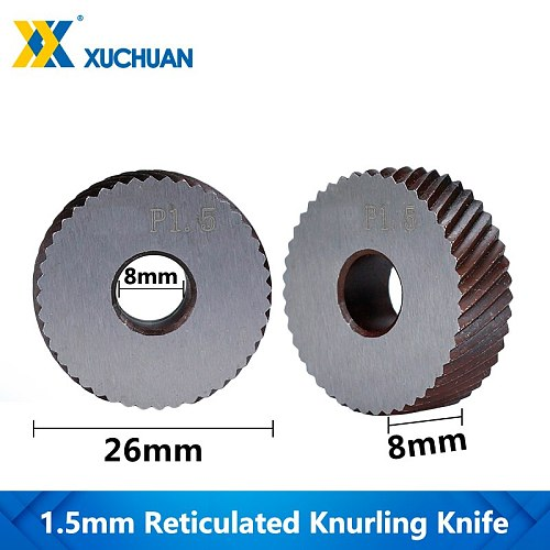 1.5mm Lathe Knurling Reticulated Knurling Wheel Inner Hole Embossing Wheel Reticulated Knurling Knife Knurling In Lathe