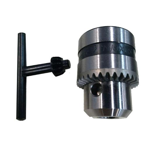 1.5-10mm Mini Drill Chuck Clamping Mini Electric Drill Chuck Angle Grinder Drill Chuck with Key Lathe Accessories