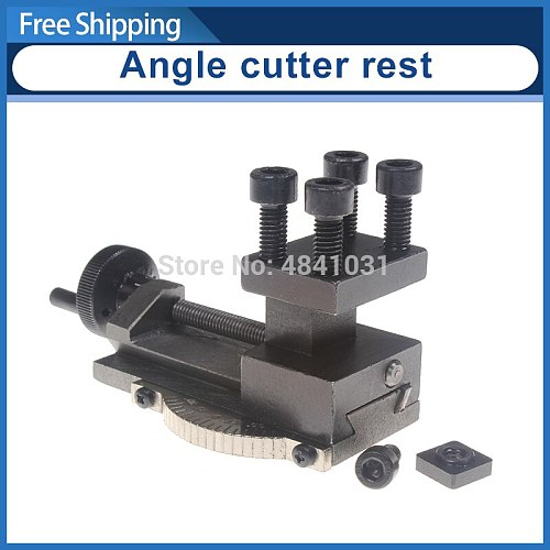 Lathe Tool holder/Angle cutter rest/SIEG C0 Rotatable Lathe Tool Holder S/N: 10154 Mini Lathe Accessories