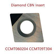 Pcd diamond cutter tools cnc insert ccmt060204 CCGT09t304  dcmt cbn mill aluminum metal external turning tool cutting lathe 1pc