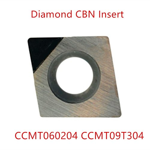 Pcd diamond cutter tools cnc insert ccmt060204 CCGT09t304  dcmt cbn mill aluminum metal external turning tool cutting lathe 1pc