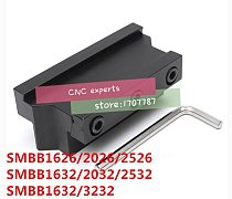 SMBB1626/SMBB2026/SMBB2526/SMBB1632/SMBB2032/SMBB2532/SMBB3232 Grooving Cut-Off Cutter Holder SPB26/SPB32-2/3/4/5/ Cutting Blade