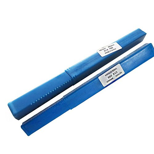 HSS 6mm C1 8mm C1 Push-Type Keyway Broach Metric Size HSS Keyway + Shim Cutting Tool for CNC Router Metalworking
